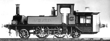 Colin Binnie`s model of LB&SCR locomotive Inspector