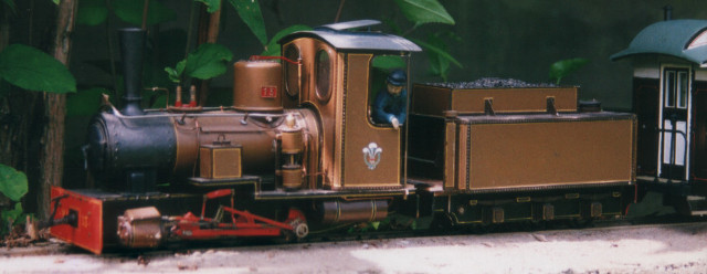 Colin Binnie`s model locomotive Hecate