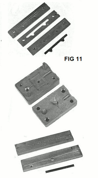 fig 11. selection of plate moulds
