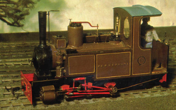 Colin Binnie`s model locomotive Persephone